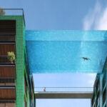 Sky pool Londres: piscina suspensa a 35m de altura