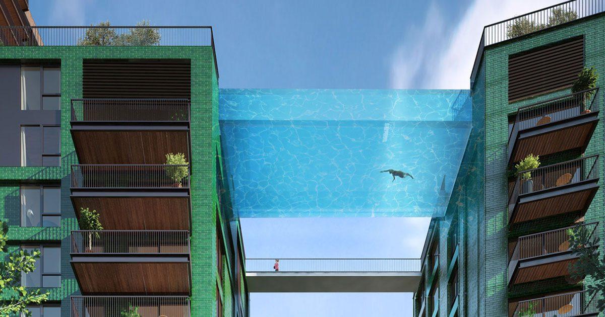 Sky Pool em Londres